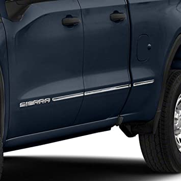 2016-2019 Toyota Tacoma Double//Crew Cab Chrome Body Side Molding Trim Stainless