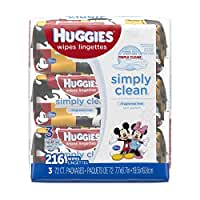Huggies\x20Simply\x20Clean\x20Wipes\x20\x2D\x20216\x20Count\x20\x2D\x20Unscented