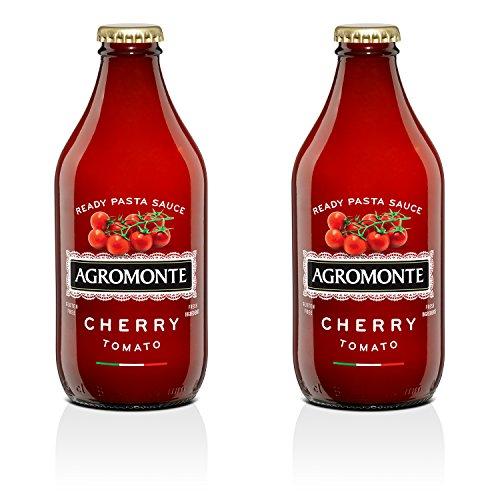 Agromonte Authentic Italian Cherry Tomato Sauce (Ready, 2 Pack 11.64 Oz)