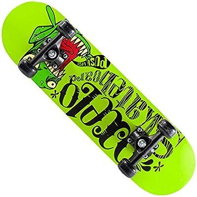 Brilliant firm Patinetes para niños Rueda de Rocker Doble Rueda Cuatro Ruedas niños Skateboarding Adolescente niños Hembra varón Adulto Adulto Tablero de la ...