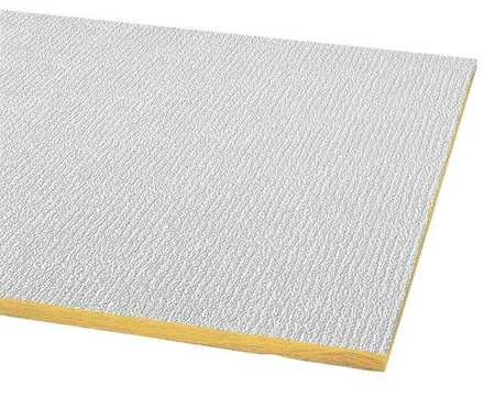 Acoustical Ceiling Tile 48''X24'' Thickness 5/8'', PK16 by Armstrong