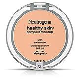 Neutrogena Healthy Skin Compact Makeup Broad Spectrum SPF 55, Buff 30, .35 Oz