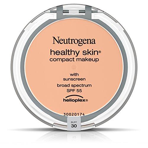 Neutrogena Healthy Skin Compact Makeup Foundation, Broad Spectrum Spf 55, Buff 30, .35 Oz.