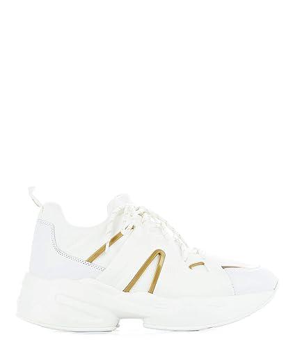rivenditore online 6cd64 6638f Amazon.com | Liu Jo Women's B19037TX03801111 White Leather ...