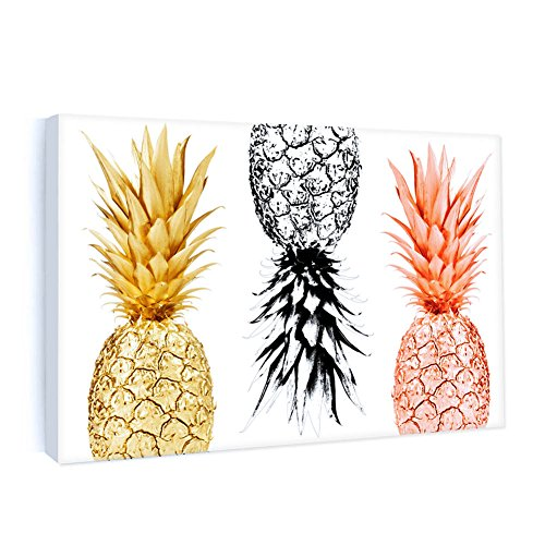 Framed Canvas Painting Pineapples Prints Home Wall Art Decor