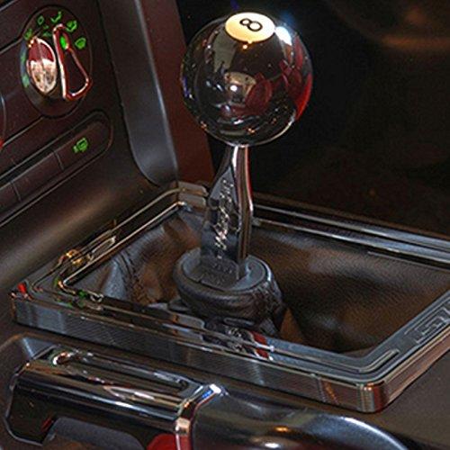 Ocamo Creative Black 8 Ball Shift Knob for Manual Gear Shifter Universal Auto Car