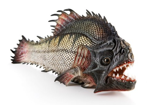 Original Movie Prop - Piranha 3DD - Hero Mechanical Dying Piranha - Authentic from None