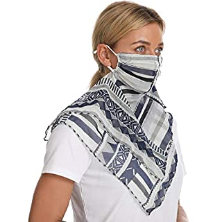 Lorpect Neck Gaiter Face Scarf Mask-Dust Outdoors Balaclavas Cloth Sports Sun Protection Scarf