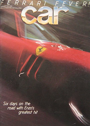 CAR magazine back issue 01/1979 Ferrari 250GTO, MG TC, Chrysler Horizon, VW Golf, Renault