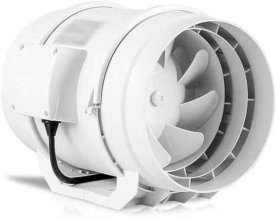 QIQIDEDIAN Ventilador de Tubo 8 Pulgadas 200 Ventilador de ...