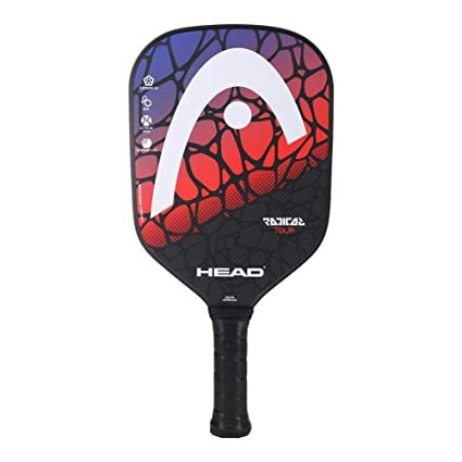Head Radical Tour - Pala de Pílbol (Azul/Rojo): Amazon.es ...