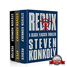 The Black Flagged Thriller Series Boxset: Books 2-4 (The Black Flagged Series) by [Konkoly, Steven]