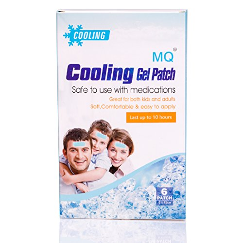 6 Pads/Box Cooling Gel Fever Patch for Relief Migraine,Muscl ache,Hot Flash