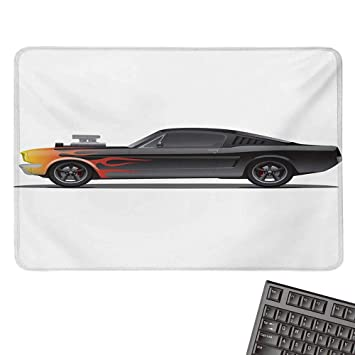 Amazon Com Carsoffice Mouse Padcustom Design Muscle Car With
