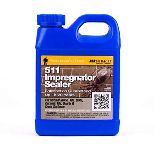 Surface Tile Sealer - Miracle Sealants 511QT6 511 Impregnator Penetrating Sealers, Quart