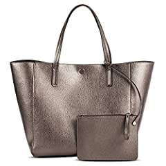 The Merona Women's Reversible Tote with Removable Pouch is the perfect go-everywhere, take-everything tote. Deep enough to carry everything you need to take with you, or to buy on the spot; light enough so it doesn't add a lot of weight to yo...