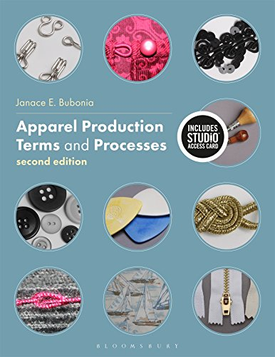 Apparel Production Terms and Processes: Bundle Book + Studio Access Card ()