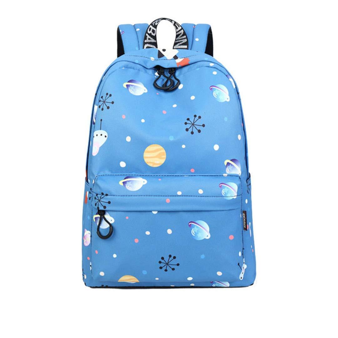 Mochila escolar Junior Fashion Planet Kawaii con estampado de copos de nieve