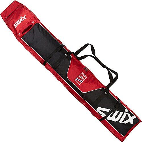 Swix Norwegian National Team Double Wheeled Ski Bag (Red)