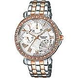 Casio Sheen Analog White Dial Women's Watch - SHN-3011SG-7ADR (SX144)