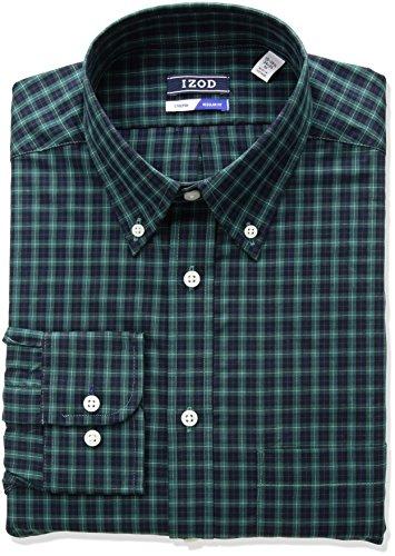 Green Button Down Collar - 6