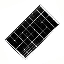ALEKO 125W 125-Watt Monocrystalline Solar Panel