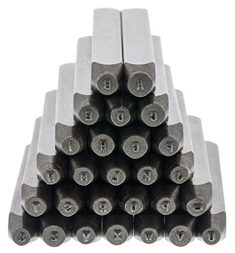 Gothic Letter Set Uppercase, Punch 27 Pc w/case (1.5mm) - (Gothic Letter Set)