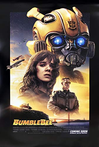 Transformers Bumble Bee Poster - BUMBLEBEE MOVIE POSTER 2 Sided ORIGINAL INTL FINAL 27x40 TRANSFORMERS HAILEE STEINFELD