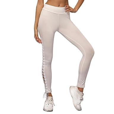 Schnäppchen 2017 viele modisch Sortenstile von 2019 YOUBan Damen Leggings Frauen Bandage Sporthose Stretch Yoga ...