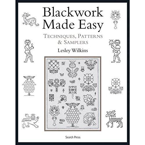Search Press Books, Blackwork Made Easy