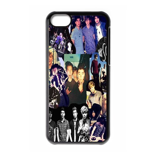 High quality 5 Second of Summer music band - 5SOS Band for fans durable cases For Iphone 5c NLL872121003