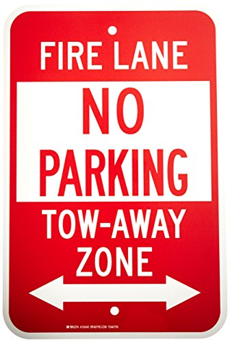 Brady 124345 Traffic Control Sign, Legend