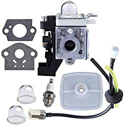 HIPA Carburetor with Repower Maintenance Kit for ECHO GT225 GT225i GT225L PAS225 PE225 PPF225 SHC225 SRM225 SRM225U Trimmer