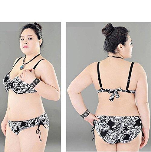 SHISHANG La Sra Bikini Europa y los Estados Unidos, incluso traje de baño de alta elasticidad del medio ambiente natación natación vadeo 5