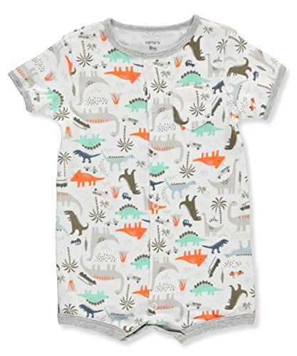 Carter's Baby Boys' Dino Print Snap Up Romper 9 Months