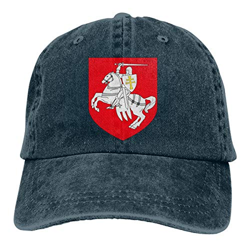 - Ginu Belarus Coats of Arms Baseball Cap for Mens and Womens