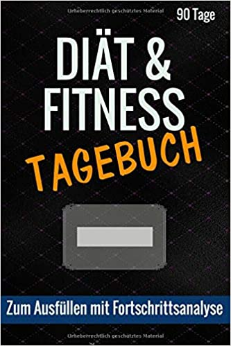Diat Fitness Tagebuch Zum Ausfullen Mit Fortschrittsanalyse