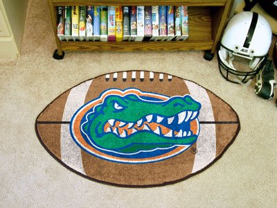Fanmats Florida Gators Football-Shaped Mats