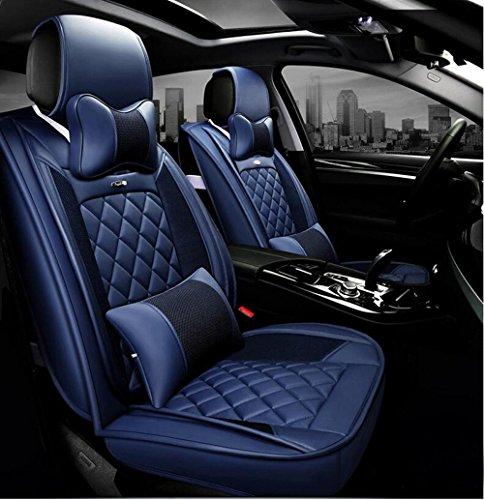KK Cubierta de asiento de coche 5D Versión tridimensional del modelo Cuero sentado alrededor Cuatro estaciones Nuevo Ford...