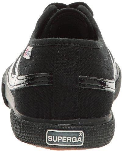 Superga - Zapatillas de tela unisex Negro (Nero (Schwarz (Schwarz)))