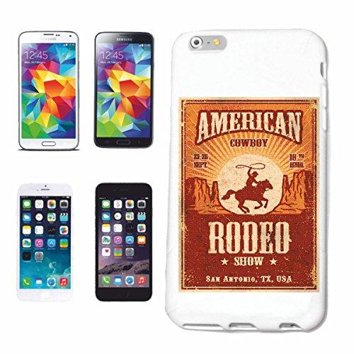 """cas de téléphone iPhone 7S """"AMERICAN COWBOY RODEO MONTRER EQUITATION RIDER ÉQUESTRE DRESSAGE HORSE HEAD RIDING RODEO COWBOY JUMPING HORSE STALLION PONY"""" Hard Case Cover Téléphone Covers Smart Cover po"""