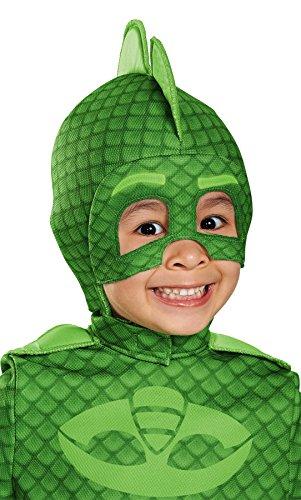 Dark Hockey Mask (Disguise Boy's PJ Superhero Gekko Deluxe Mask Child Halloween Costume Accessory)
