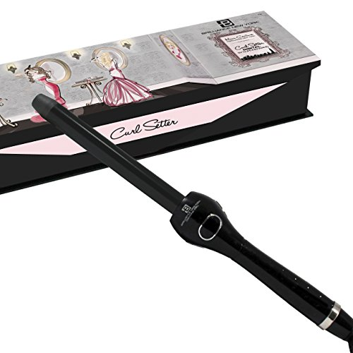 "Brilliance New York - Digital Clipless Curling Iron, 3/4""..."