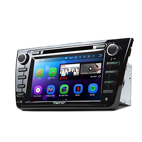 Eonon Android 7.1 Car Stereo Radio Quad Core 2GB RAM+16GB ROM Car GPS Navigation 8 inch Applicable to Mazda 6 2009,2010,2011 and 2012 in Dash Touch Screen Head Unit with Bluetooth WiFi GA8198