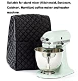 Evermarket Stand Mixer Dust Proof Cover with Pocket and Organizer Bag for Kitchenaid,Sunbeam,Cuisinart,Hamilton Mixer