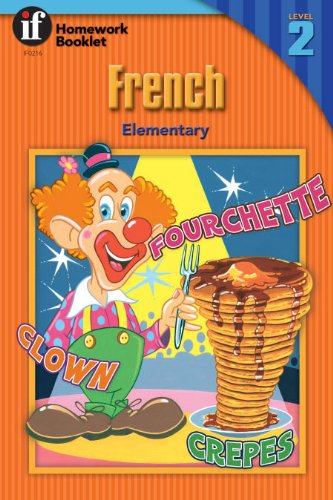 (French Homework Booklet, Elementary, Level 2 (Homework Booklets) (English and French Edition))
