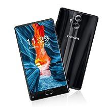 DOOGEE MIX Lite - Doppia Fotocamera Smartphone in offerta 4G(Android 7.0, 5.2''HD Bezel-less Schermo, 13MP + 8.0MP, Batteria 3080mAh, 2GB RAM + 16 GB ROM), Blu