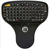 GBSELL New Mini 2.4G Wireless Remote Control RC Multimedia Gaming Keyboard Mouse Trackball