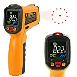 Infrared IR Laser Thermometer Janisa PM6530B -50°C~550°C Digital Thermometer Temperature Gun Non Contact Color Display With 12 Point Aperture Temperature Alarm Function