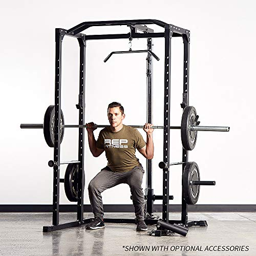 Rep PR-1100 Power Rack - 1,000 lbs Rated Lifting Cage for Weight Training by Rep Fitness (Image #7)